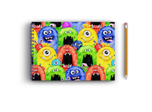 Load image into Gallery viewer, A3 Sketchbook - Funny Monster Heads