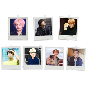 BTS Polaroids Pack of 7