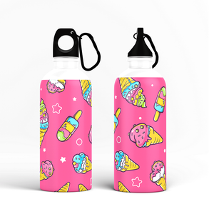 Sipper Bottle - Ice Cream Design
