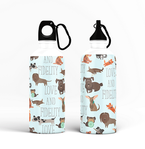 Sipper Bottle - Love and Fidelity Design