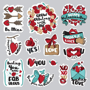 Love Stickers SET-A