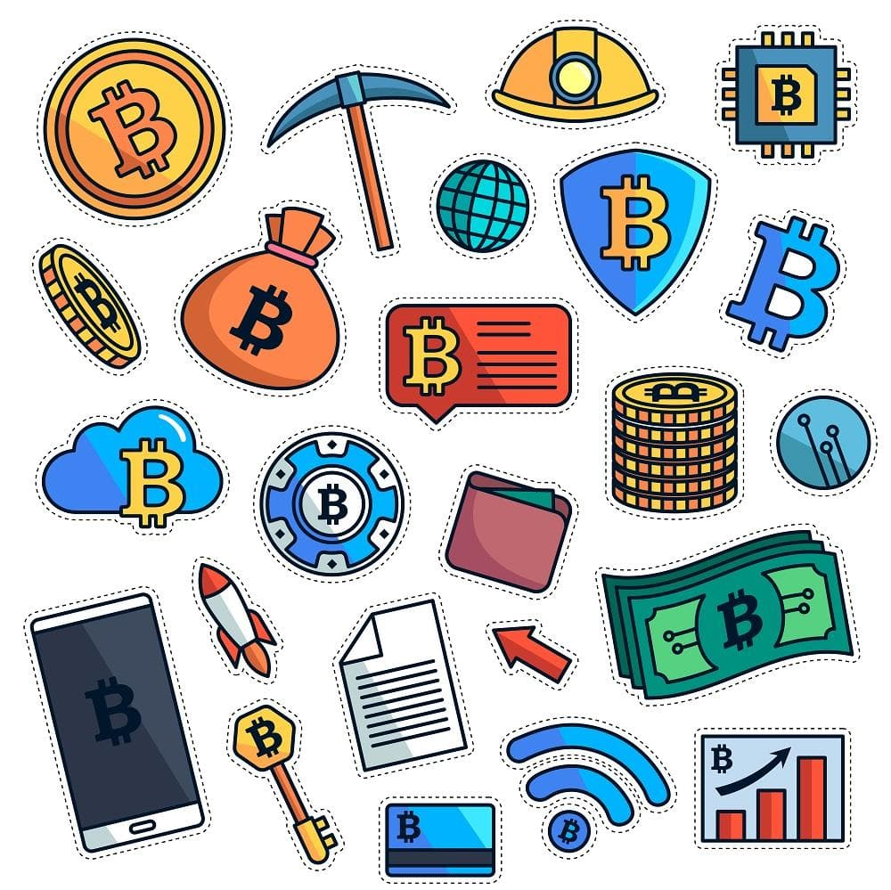 Bitcoin Mining - Stickers
