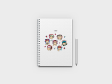 Load image into Gallery viewer, BTS Members A5 Notebook
