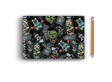 Load image into Gallery viewer, A3 Sketchbook - Halloween Seamless