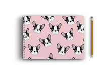 Load image into Gallery viewer, A4 Sketchbook - Cute Puppy Seamless