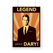 Load image into Gallery viewer, How I met your mother - Barney Legendary - Wall Poster