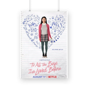 To All the Boys I've loved before Poster