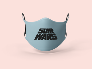 Sky Blue Star Wars Face Mask