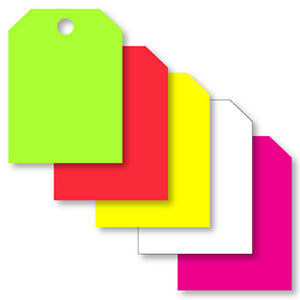 Blank – Multi Color Automotive Hang Tags (Increments of 250)