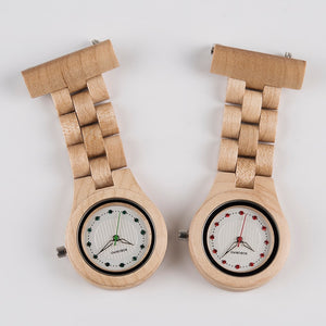 Wow it's a nurses wooden pocket watch..  only 10 left