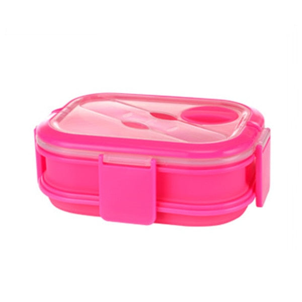 The double Decker collapsible lunch box food storage unit.