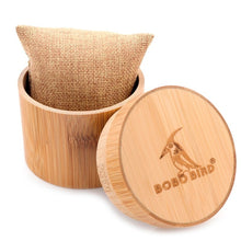 Load image into Gallery viewer, BOBO BIRD Bamboo Wooden Watches Box Round Bamboo Tube