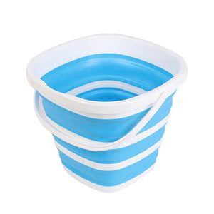 10L Silicone Collapsible Bucket