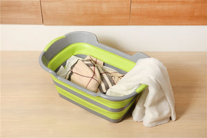 The epic space saving washing basket