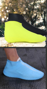 Silicone Overshoes - Reusable waterproof shoe covers