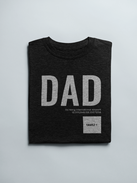 DAD Airport Unisex T-Shirt