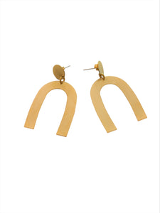 Arc-statement-earrings
