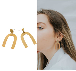 Arc statement  earrings