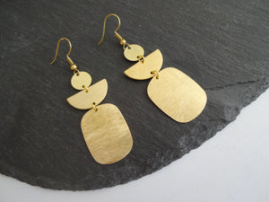 dangle statement earrings