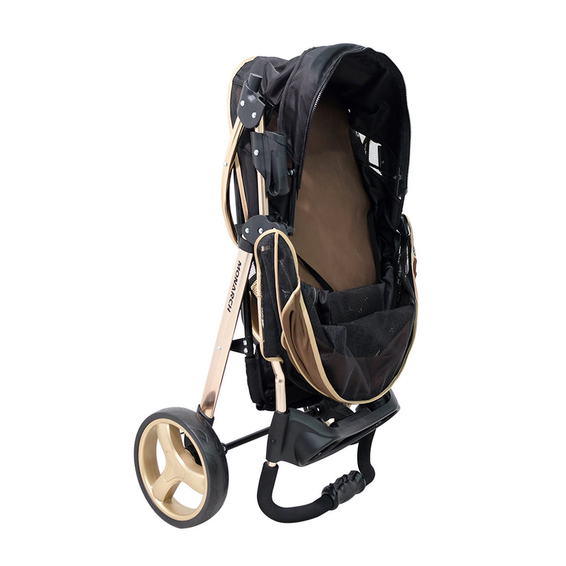 Monarch Premium Pet Jogger – Luxury Gold