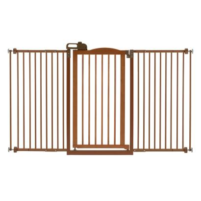 Tall One-Touch Gate II Wide Autumn Matte