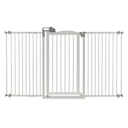 Tall One-Touch Gate II Wide Origami White