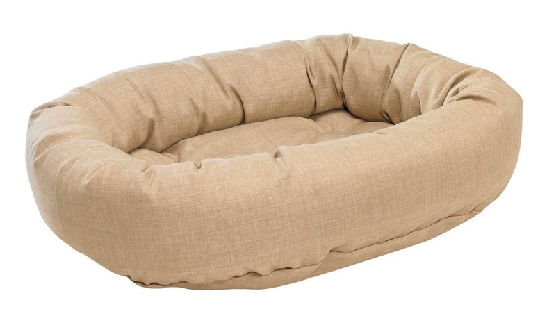 DONUT DOG BED FLAX