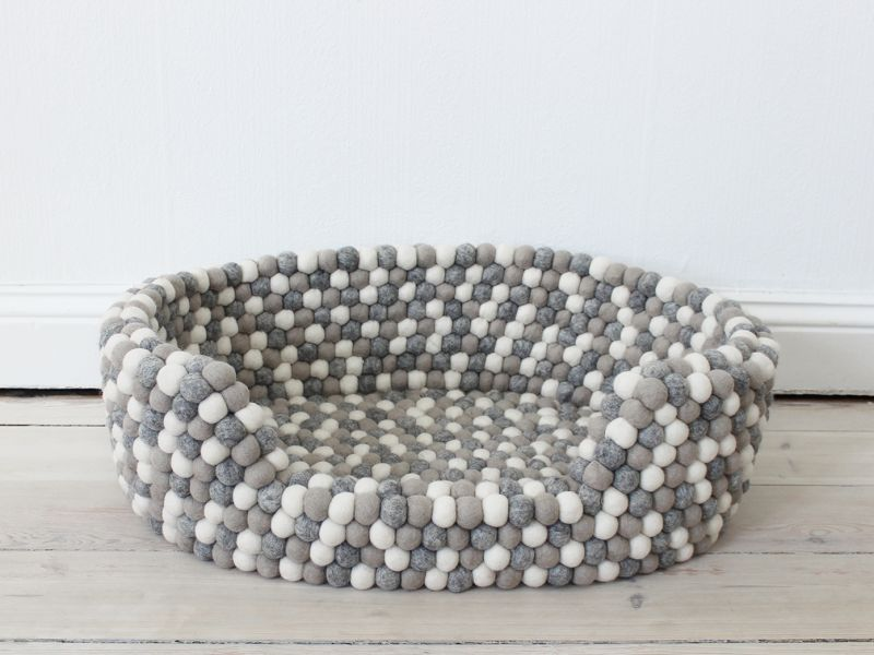 Light Grey Pet Basket