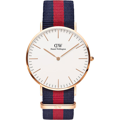 Daniel Wellington 40mm Classic Oxford watch