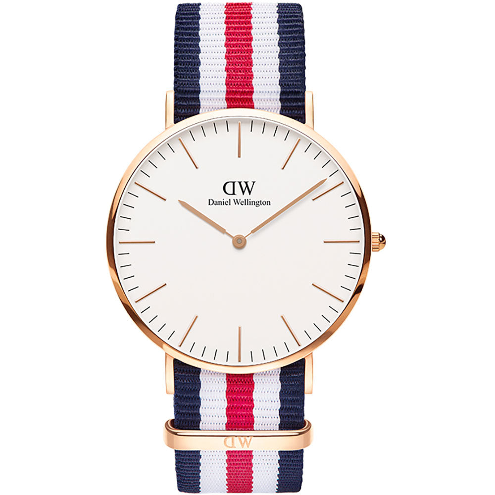 Daniel Wellington 40mm Classic Canterbury watch