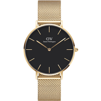 Daniel Wellington 36mm Petite Evergold watch
