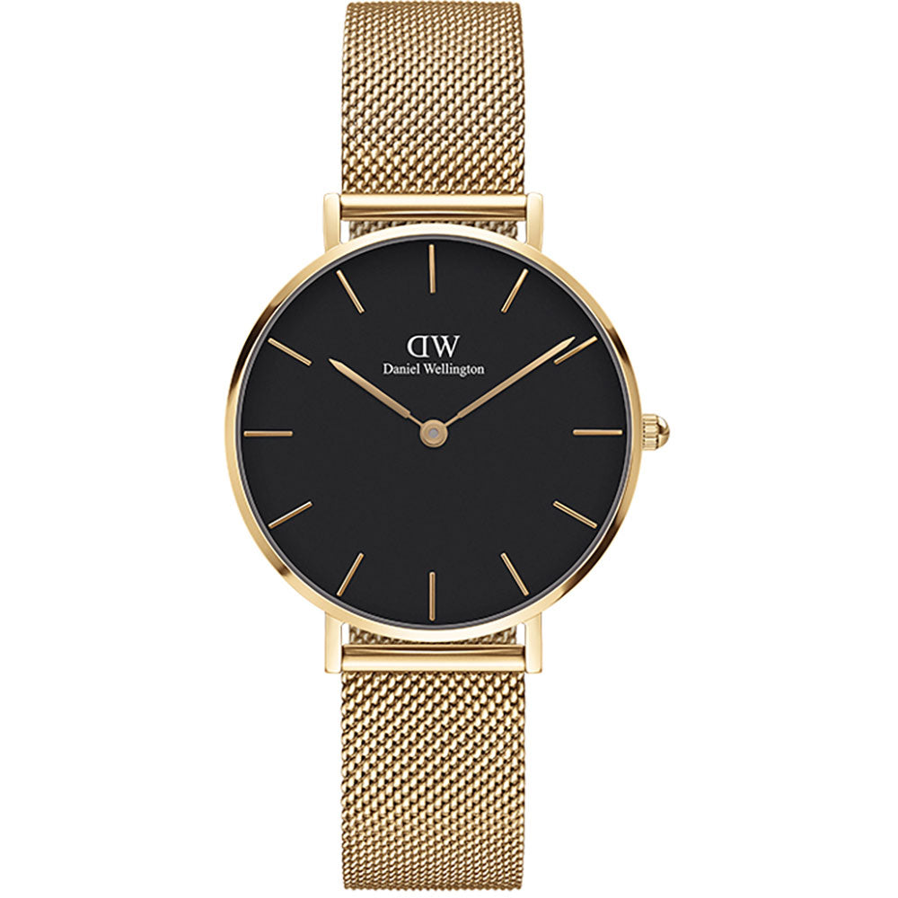 Daniel Wellington 32mm Petite Evergold watch