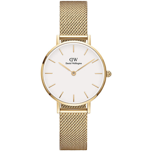 Daniel Wellington 28mm Petite Evergold watch