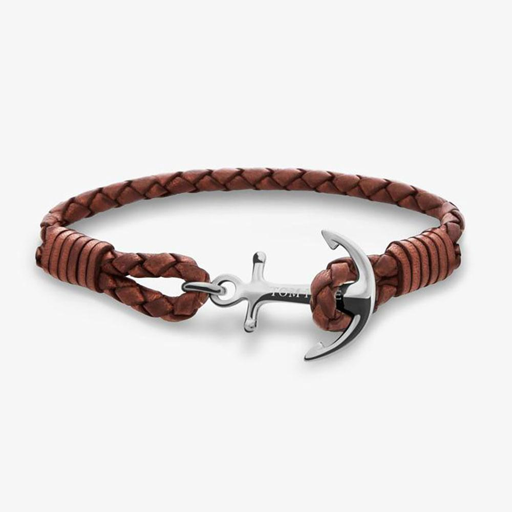 Tom Hope Cognac Brown bracelet - M