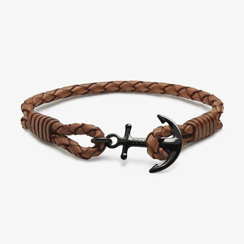 Tom Hope Cognac Brown bracelet - L