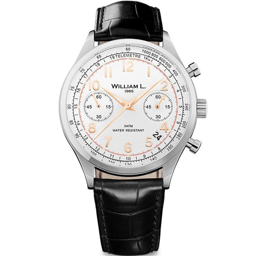 William L Vintage Chrono Watch - WLAC01BCORCN