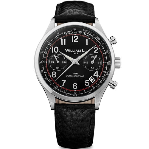 William L Vintage Chrono Watch - WLAC01NRBN