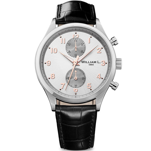 William L Small Chrono Watch - WLAC02GOCN