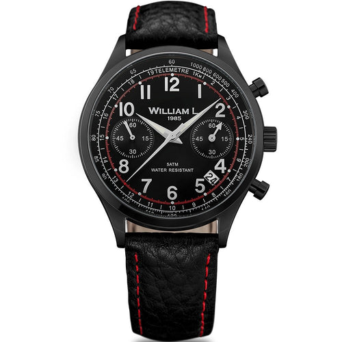 William L Vintage Chrono Watch - WLIB01NRBNSR