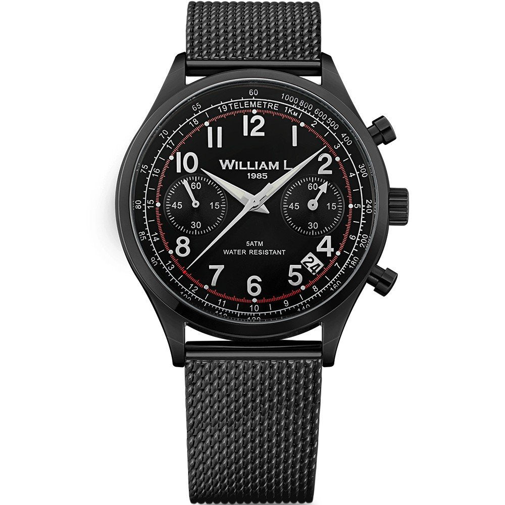 William L Vintage Chrono Watch - WLIB01NRMMN