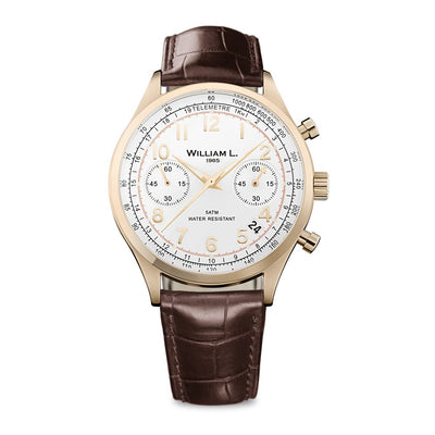 William L Vintage Chrono Watch - WLOR01BCORCM