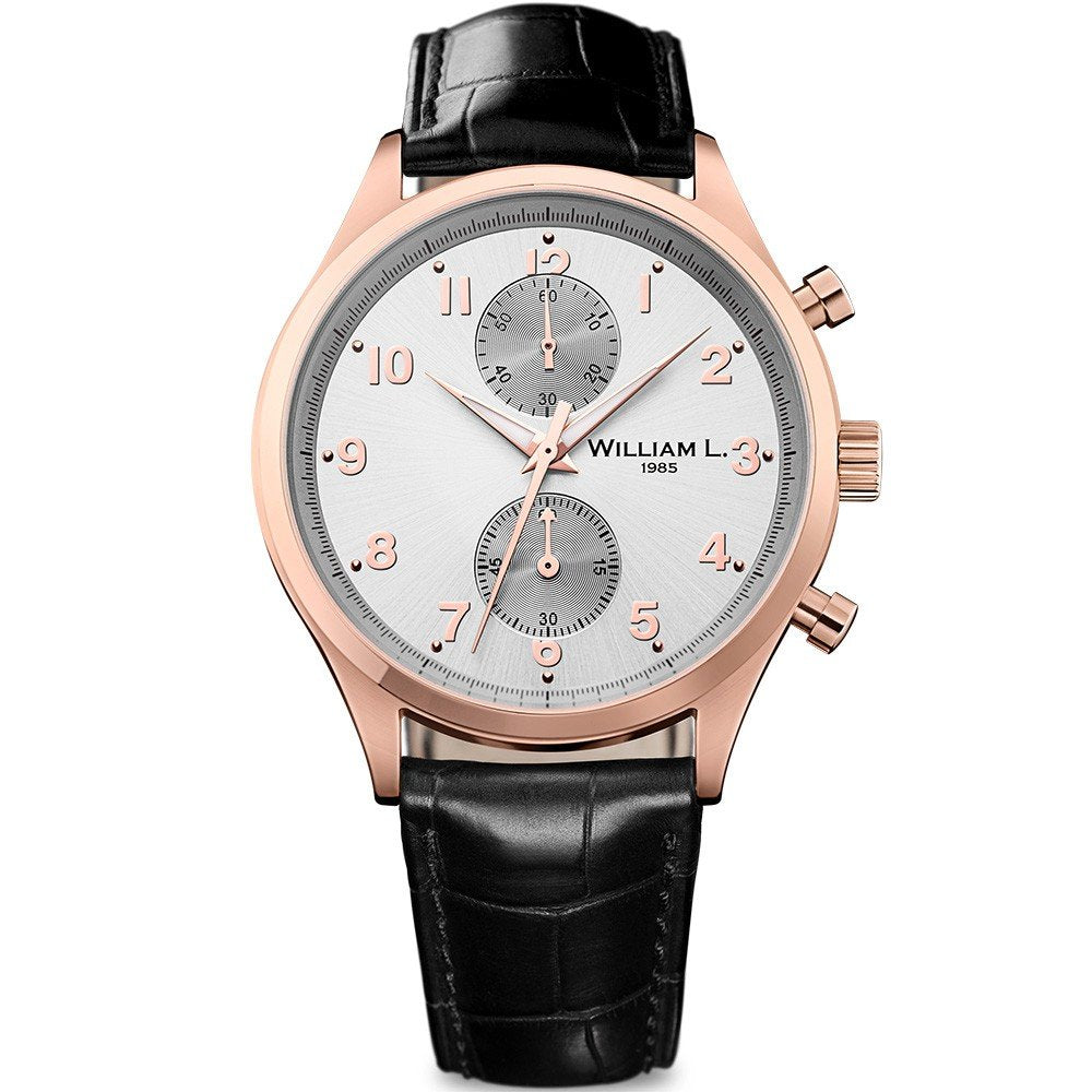 William L Small Chrono Watch - WLOR02GOCN