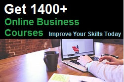 Get online business courses and improve your skills today.