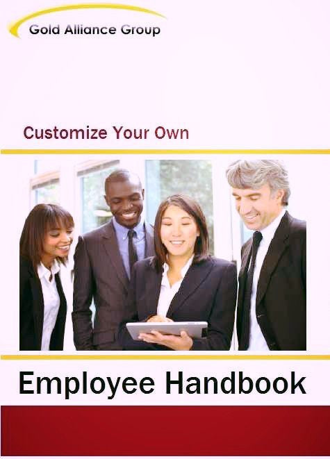 Employee Handbook For Small Business Word Template