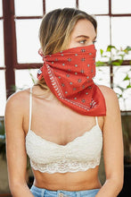 Load image into Gallery viewer, Western Paisley Square Bandana