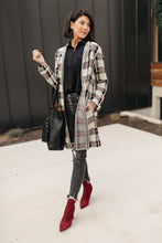 Load image into Gallery viewer, Business Casual Cardigan in Plaid