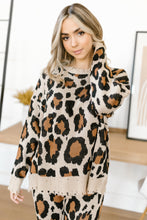 Load image into Gallery viewer, Chasing Sleep Lounge Set Top in Leopard