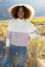 Load image into Gallery viewer, Chloe Color Block Top in Lavender