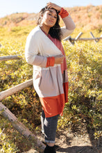 Load image into Gallery viewer, Clarissa Striped Cardigan in Paprika
