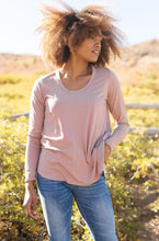 Load image into Gallery viewer, Every Girl's Favorite Basic Top in Mauve
